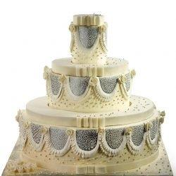 WeddingSilver 250x250 - Wedding Cake