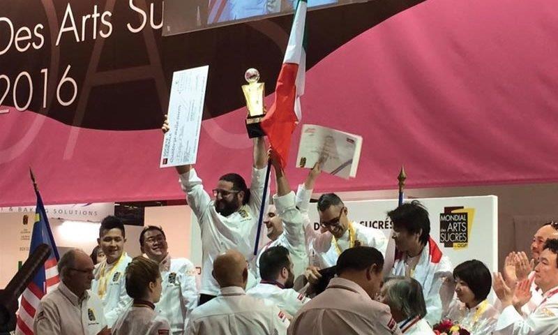 ArtesSucreCUP2 800x480 - L'italia vince i Mondial des arts sucrés di Parigi