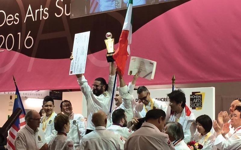 ArtesSucreCUP2 - L'italia vince i Mondial des arts sucrés di Parigi