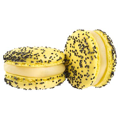 MacaRAL Rinaldini limone e semi di papavero