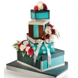 WeddingTiffany 250x250 - Wedding Cake
