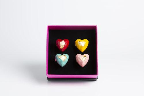 Chocodiamante Rinaldini scatola luxury 4pz