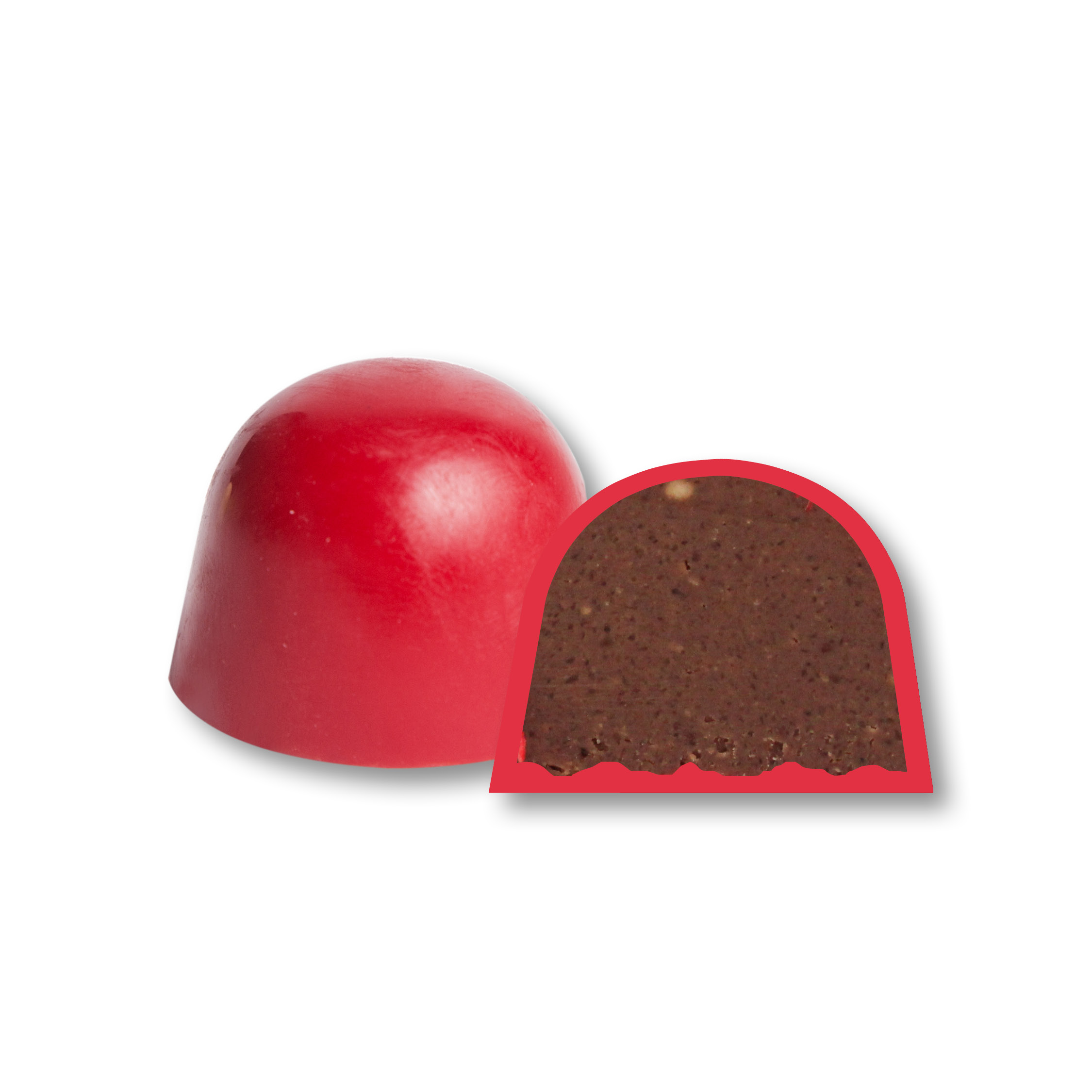 Chococolor rosso