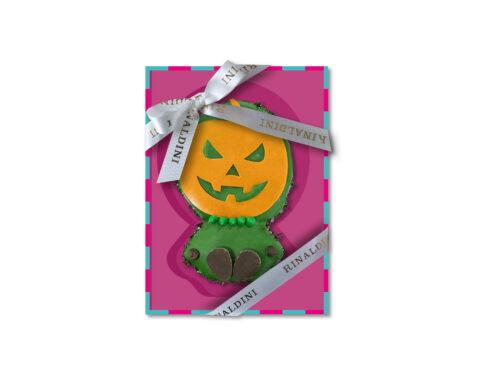 Biscotto Decorato Zucca Halloween 2020 Rinaldini