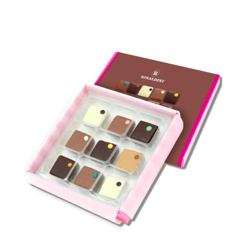 Foto Scatole BONBON CHOCOCOLOR CREMINI e GELEE 500x500 - Bon Bon in luxury box da #9pz