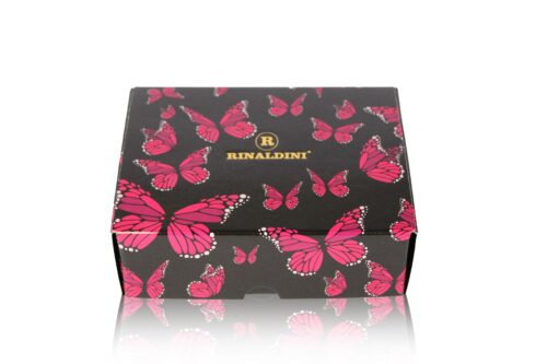 Foto Scatola MacaRAL 12pz Farfalle Fronte min 500x333 - Limited Edition Butterfly - MacaRAL in luxury box da #12pz