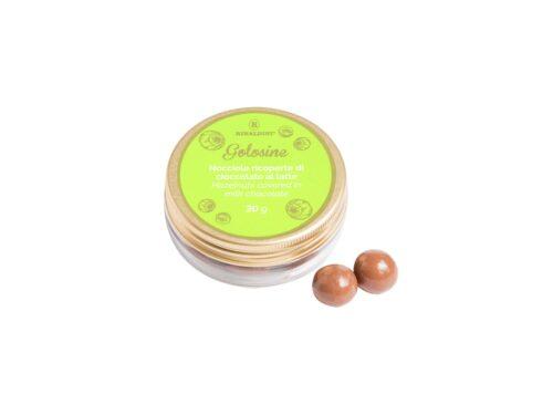 Golosine Nocciole Ricoperte Di Cioccolato Al Latte