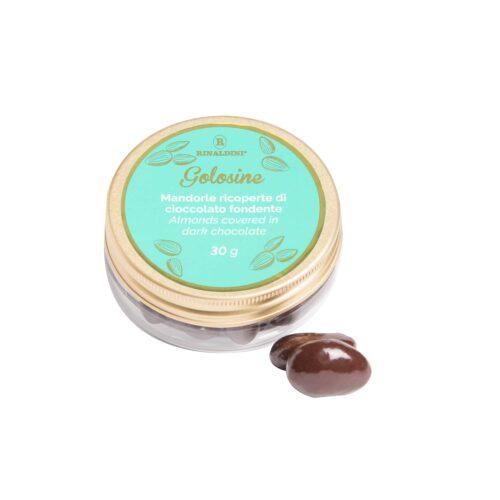 Golosine Mandorle Ricoperte Di Cioccolato Fondente